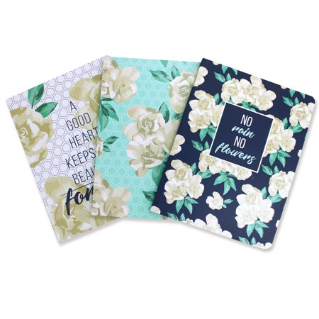 U Style Floral Fancy Composition Book, CR, 100 Sheets, Colors Vary