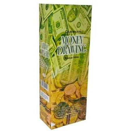 Air Incense (Product Of Darshan, Incense Sticks Money Drawing, Count 6 (20Stick) - Air Freshener / Grab Varieties & Flavors)