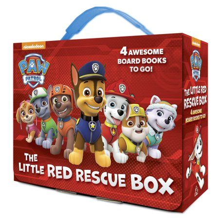 Little Red Rescue Box (Board Book) (Everybodys Baby The Rescue Of Jessica Mcclure)