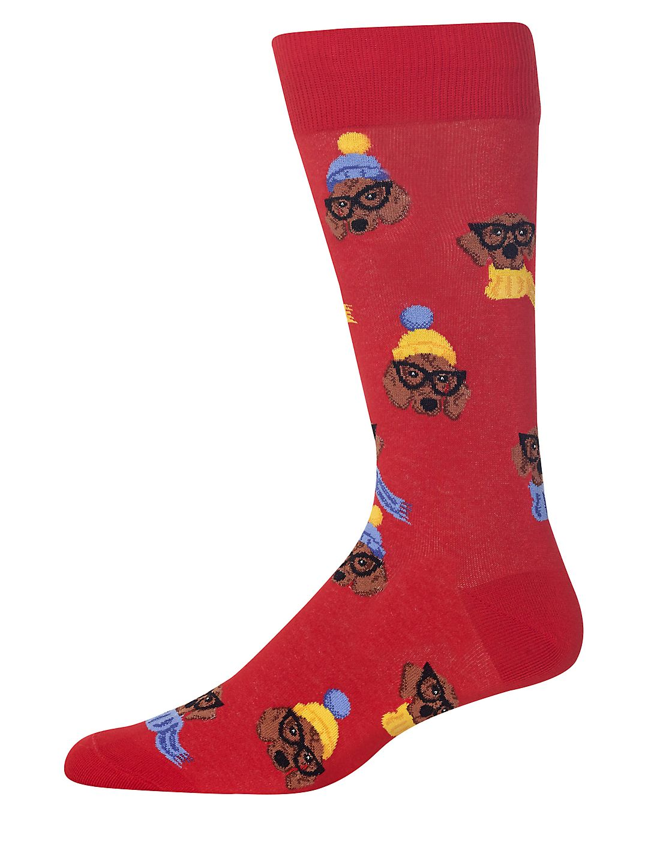 Dressed Dogs Crew Socks