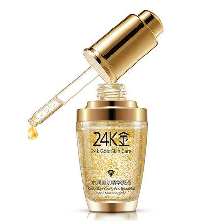 AngelCity 24K Gold Collagen Liquid,Anti-Aging Wrinkle Remover Collagen Skin Care Liquid