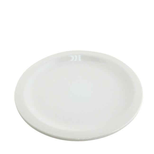 "Challenger® Plate Bright White 9 1/2"""
