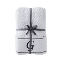 "SKL Home Monogram ""G"" 4 Pc Bath And Hand Towel Set"