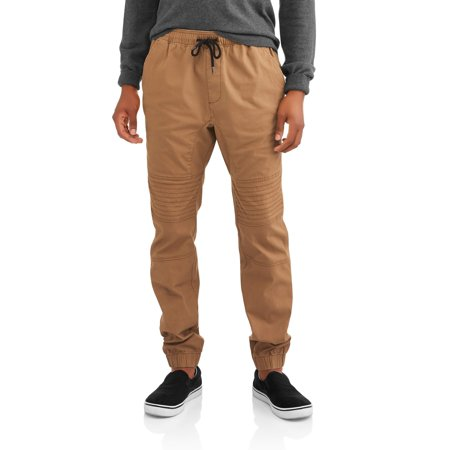 Men's Canvas Moto Jogger Pants