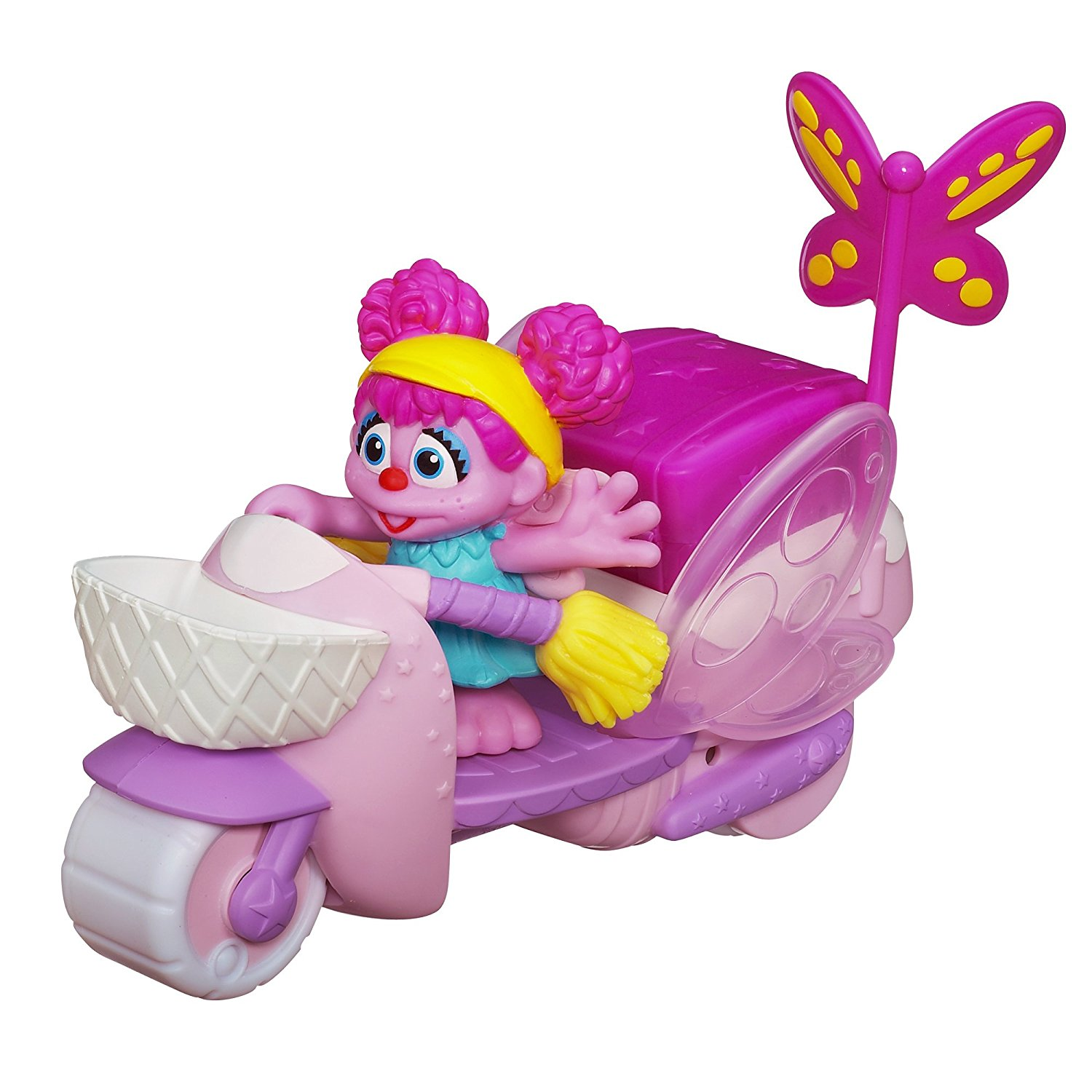 Sesame Street Abby Cadabby Scooter, With its colorful design and wings that flap; preschoolers will love... by