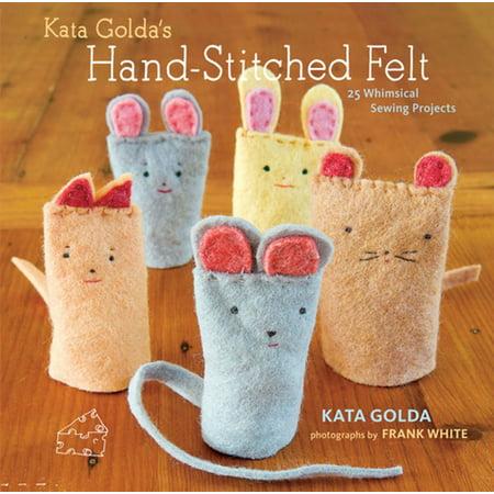Kata Golda's Hand-Stitched Felt - eBook