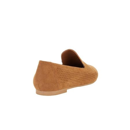 Portland Boot Company Faux Suede Flat (Women's)