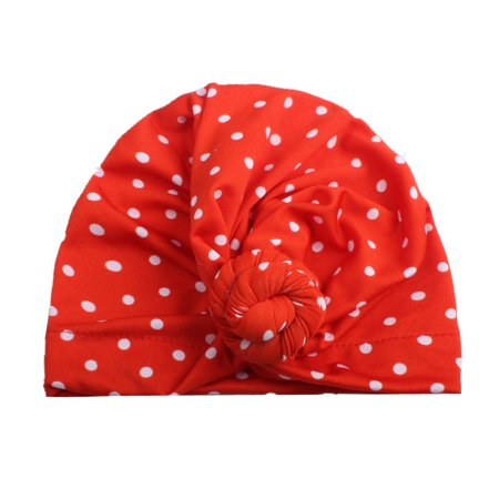 Outtop Cute Newborn Toddler Kids Baby Boy Girl Turban Cotton Beanie Hat Winter Warm (Cotton Winter Beanie)