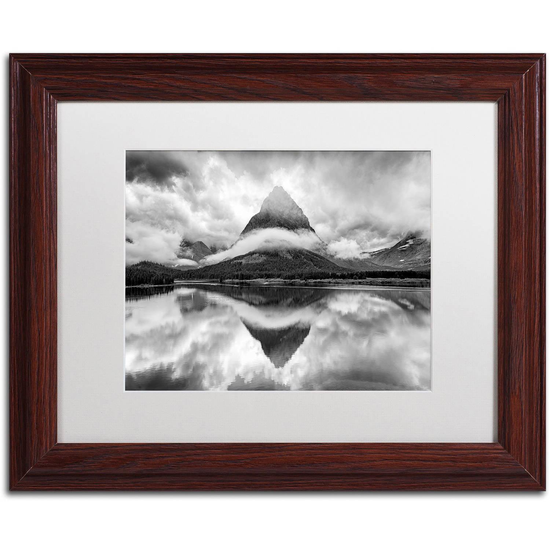 "Trademark Fine Art ""Tie a Ribbon"" Canvas Art by Michael Blanchette Photography White Matte, Wood Frame"