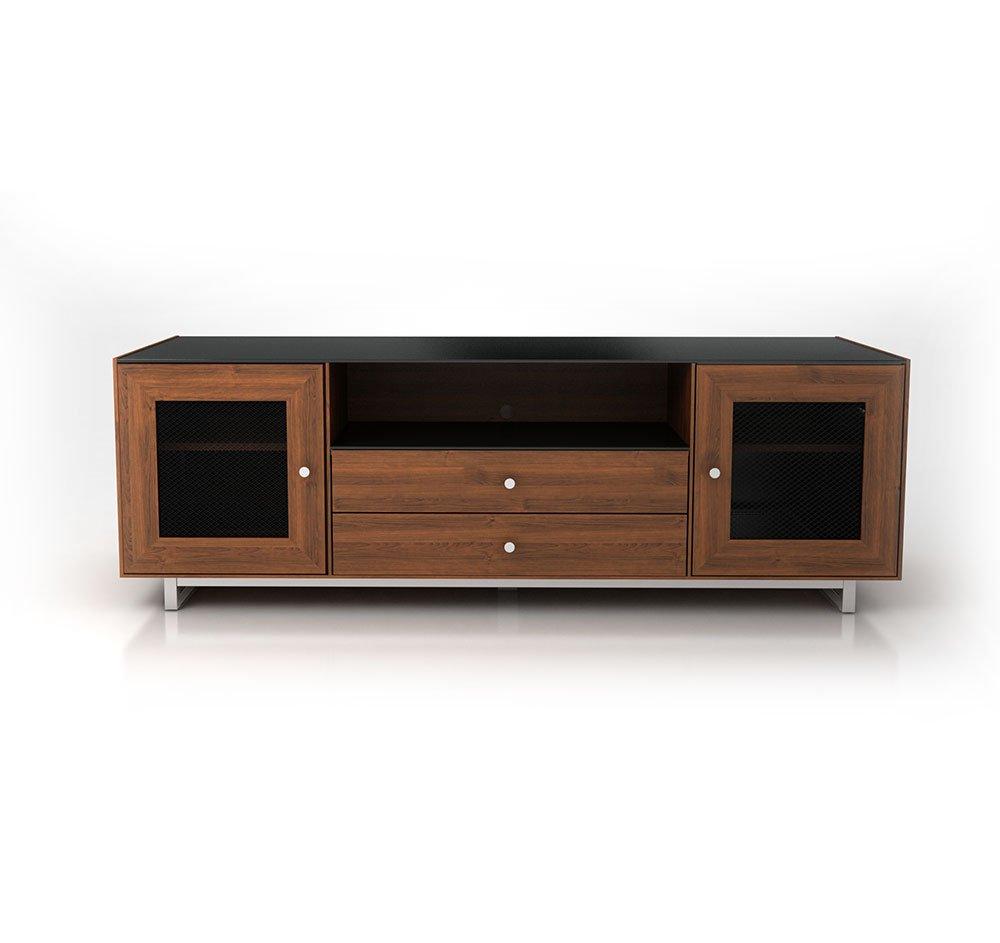 Charming Sanus Cadenza 75 Natural Walnut Video Furniture