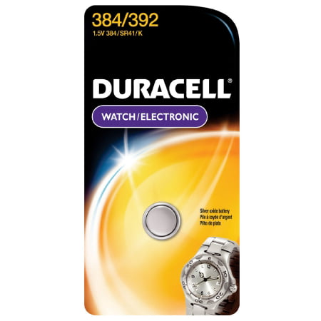 Duracell Silver Oxide Battery  384/392 Cell 1.5V Disposable Pack of (Disposable Battery Recharger)