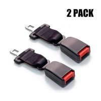 """Reactionnx 2-Pack 7"""" Seat Belt Lengthening Accessory with 7/8"""" Metal Tongue Width"""