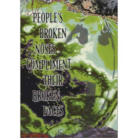 People's Broken Noses Compliment Their Broken Face - Broken Noses