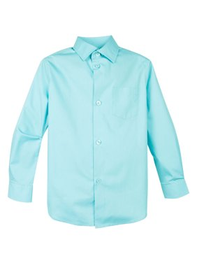 11e2169b4 Product Image Spring Notion Boy's Cotton Blend Long Sleeve Dress Shirt