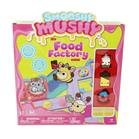 Smooshy Mushy Food Factory Game with 4 Squishy - Gross Halloween Food Games