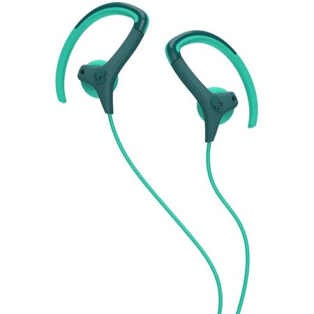 Skullcandy Chops Bud  Ear Hook Earphones Teal Green