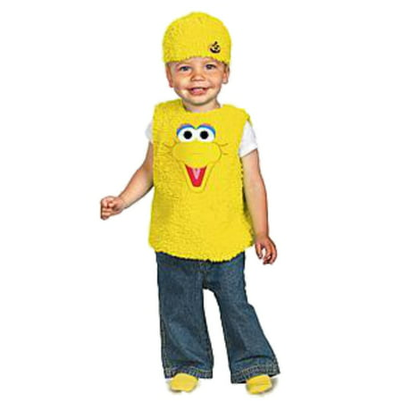 Sesame Street Infant Boys & Girls Plush Yellow Big Bird Costume 12-18 Months