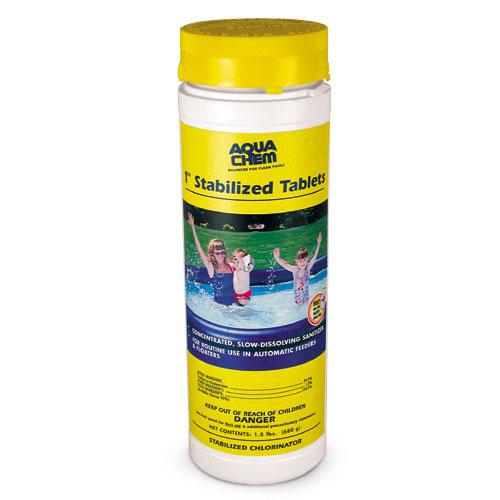 Aqua Chem 1-inch Chlorine Tablets