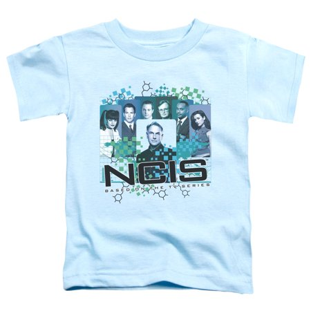 Trevco Ncis-Cast - Short Sleeve Toddler Tee - Light Blue, Large
