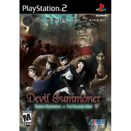 Shin Megami Tensei Devil Summoner - PlayStation 2 (Shin Megami Tensei Ps2)