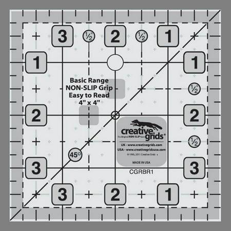 Creative Grids Basic Range 4  Square Ruler