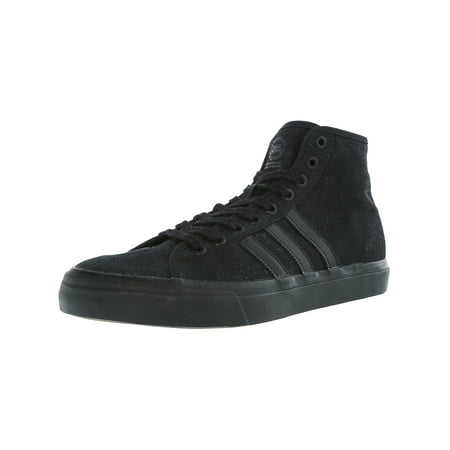 Adidas Men's Matchcourt High Rx Core Black Ankle-High Fabric Fashion Sneaker -