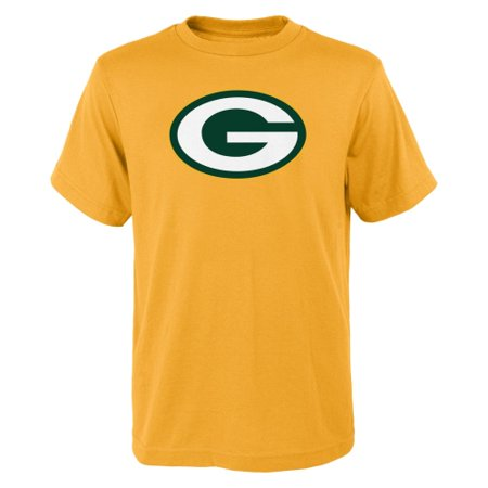 Green Bay Packers Youth Primary Logo T-Shirt - Gold](Green Bay Packer Logo)