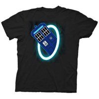 Doctor Who Time Warp Mens Black T-Shirt   S