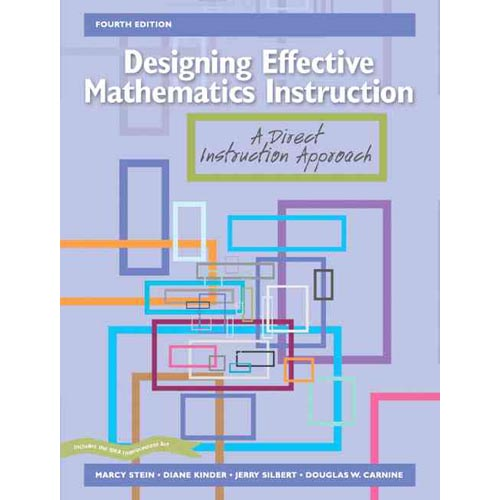 Designing Effective Math Instruction: A Direct Instruction Approach