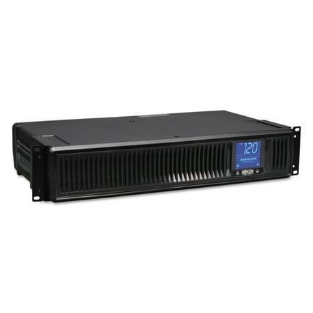 Tripp Lite 1500VA Smart UPS Battery Backup, AVR, LCD, Line Interactive, Rack/Tower, 8 Outlets, 120V, USB, DB9 (SMART1500LCD)