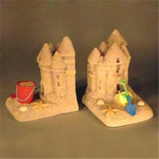 Judith Edwards Designs 3521 Sand Castle Bookends