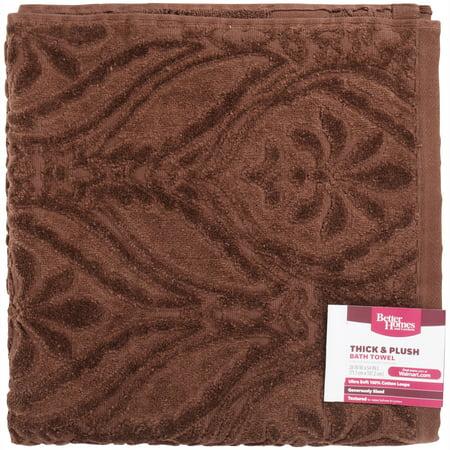 Better Homes & Gardens Thick & Plush Bath Towel, 1 Each (Plush Bat)