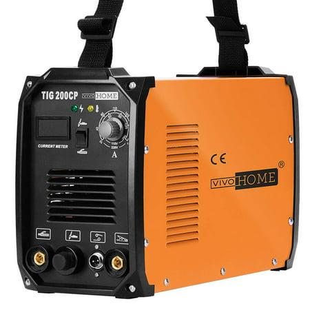 VIVOHOME 2 in 1 Portable TIG STICK/MMA Welding Machine Dual Voltage 110/220V TIG