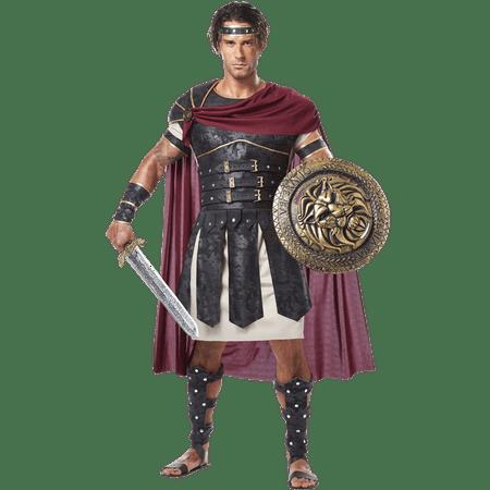 Roman Gladiator Costume 01258 California Costume Collections Black/Burgundy