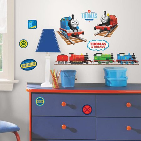 Sonic Wall Decals (RoomMates Thomas the Tank Engine Peel & Stick Wall)