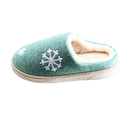 Autumn And Winter Anti-skid Warm Soft Cotton Couple Slippers Plush Indoor Shoe - image 5 of 7