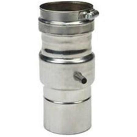 Z-Flex 2SVEDWCF03 Horizontal Condensation Drain Pipe, Stainless Steel