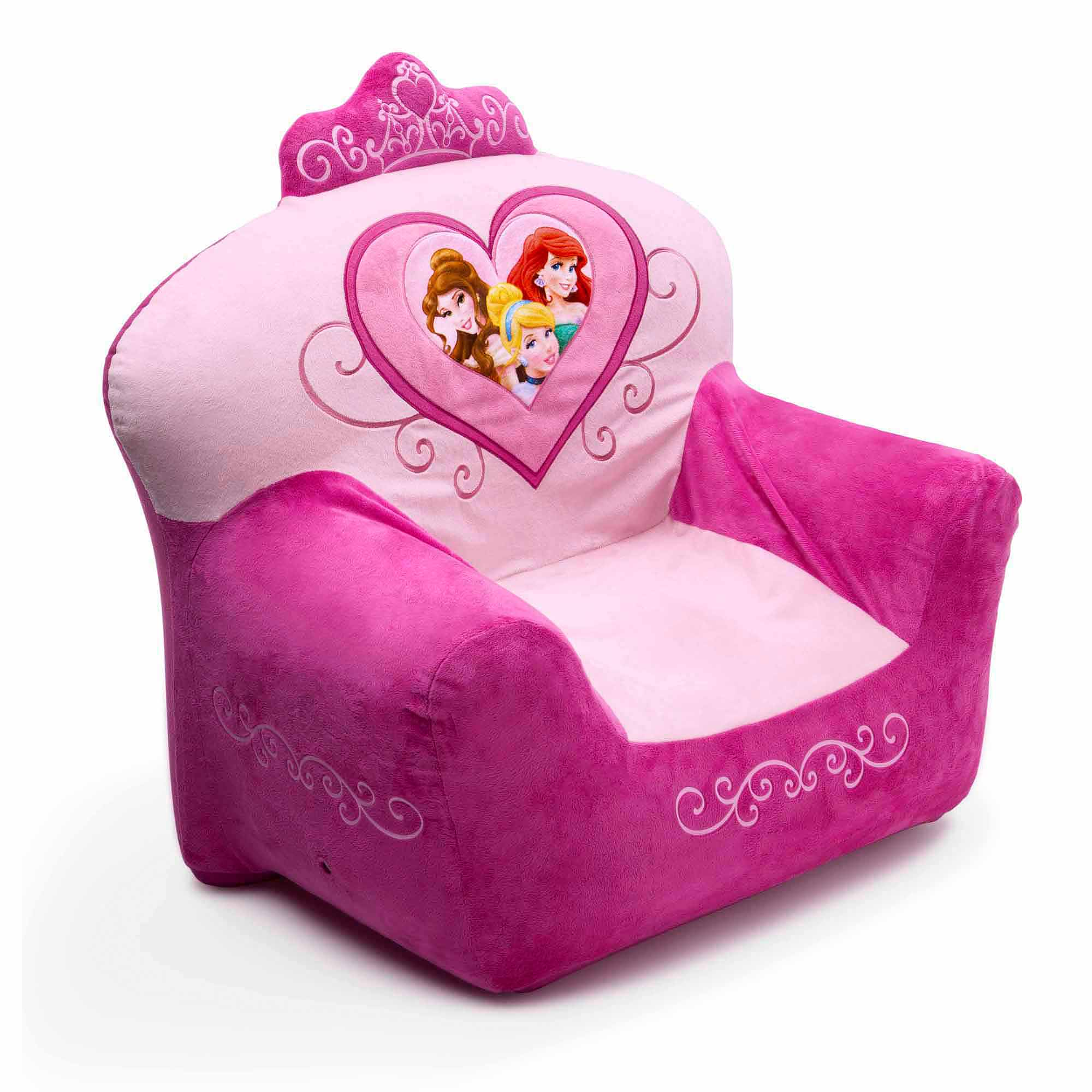 sc 1 st  Walmart & Disney Princess Club Chair - Walmart.com