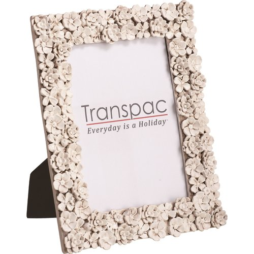 Transpac Flower Picture Frame