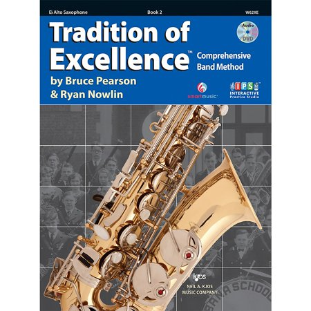 - KJOS Tradition Of Excellence Book 2 for Alto Sax