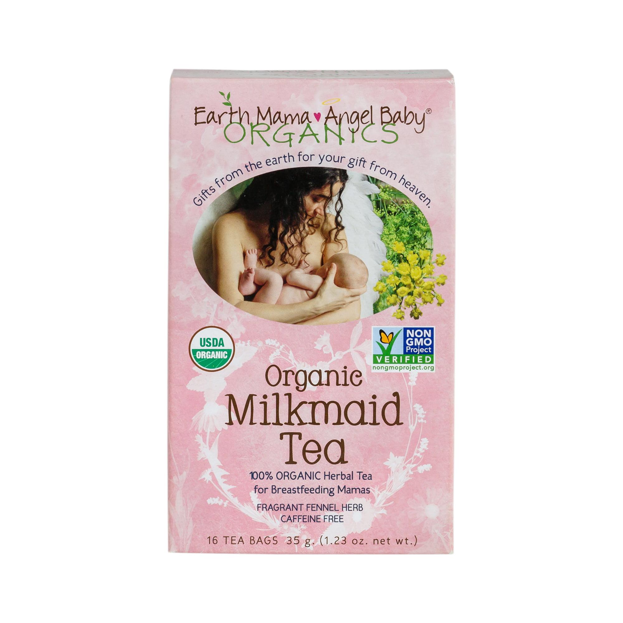 Earth Mama Angel Baby Organics Organic Milkmaid Tea - 16 CT