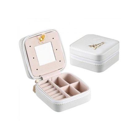 Topumt Travel Makeup Case Jewelry Packaging Box Bag Cosmetics Organizer Container (Cosmetic Sample Packaging)