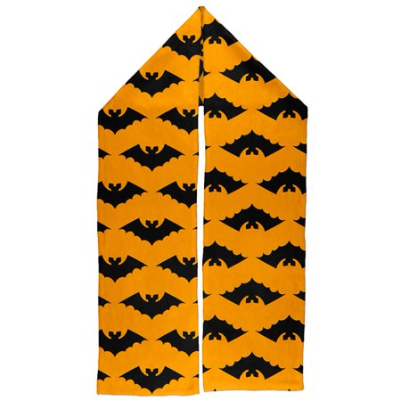 Halloween Vamprie Bats Pattern Warm Fleece Scarf](Halloween Pattern)