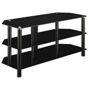Innovex Concord Black TV Stand for TVs up to 55""