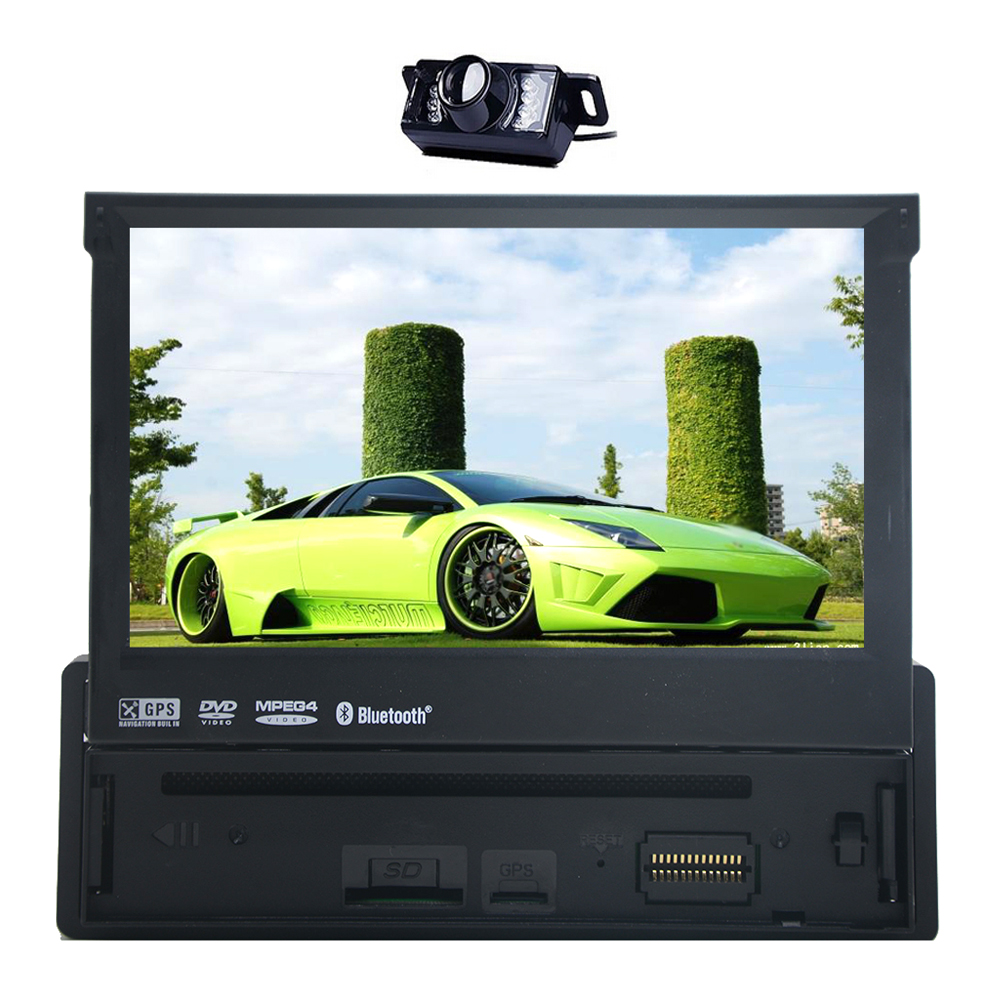 EinCar 7.0 inch Wince System Single 1 Din Car DVD Player ...