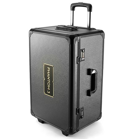 e Pull Rod Hand Traveling Box Case for Quadcopter DJI Phantom 3 Professional Advanced (Electronic Trolley)