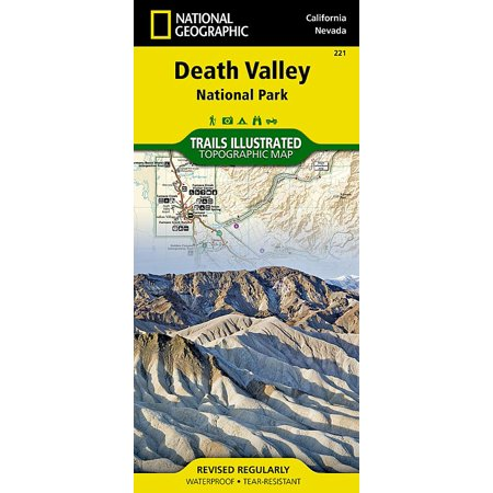 Death Valley National Park (other): (Valley Plaza Map)