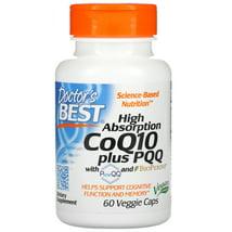 Vitamins & Supplements: Doctor's Best High Absorption CoQ10 plus PQQ