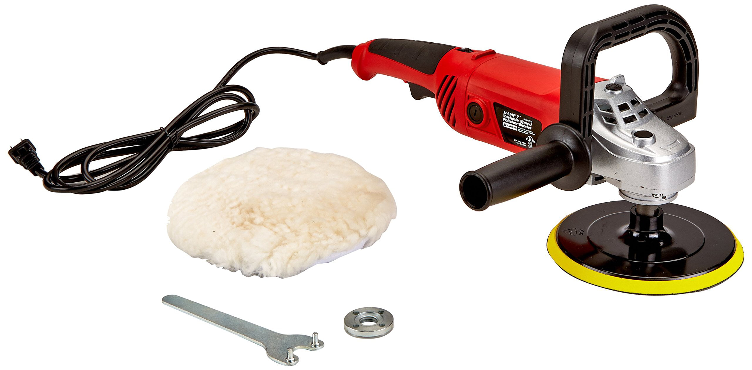 "Titan 22530 7"" Polisher Sander 11 Amp by Titan"
