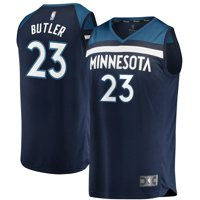 Jimmy Butler Minnesota Timberwolves Fanatics Branded Youth Fast Break Replica Jersey Navy - Icon Edition